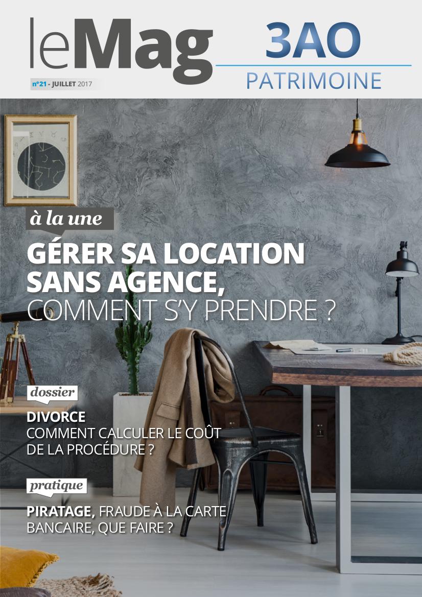 Location sans agence le mag 21 juillet 2017 3ao patrimoine for Location agence