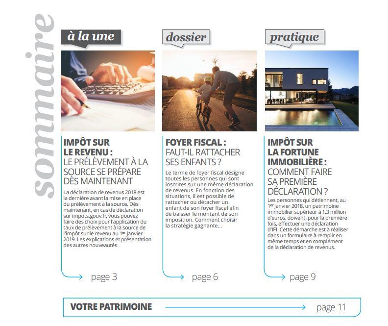 Premiere Declaration Fiscale Groupe Sister