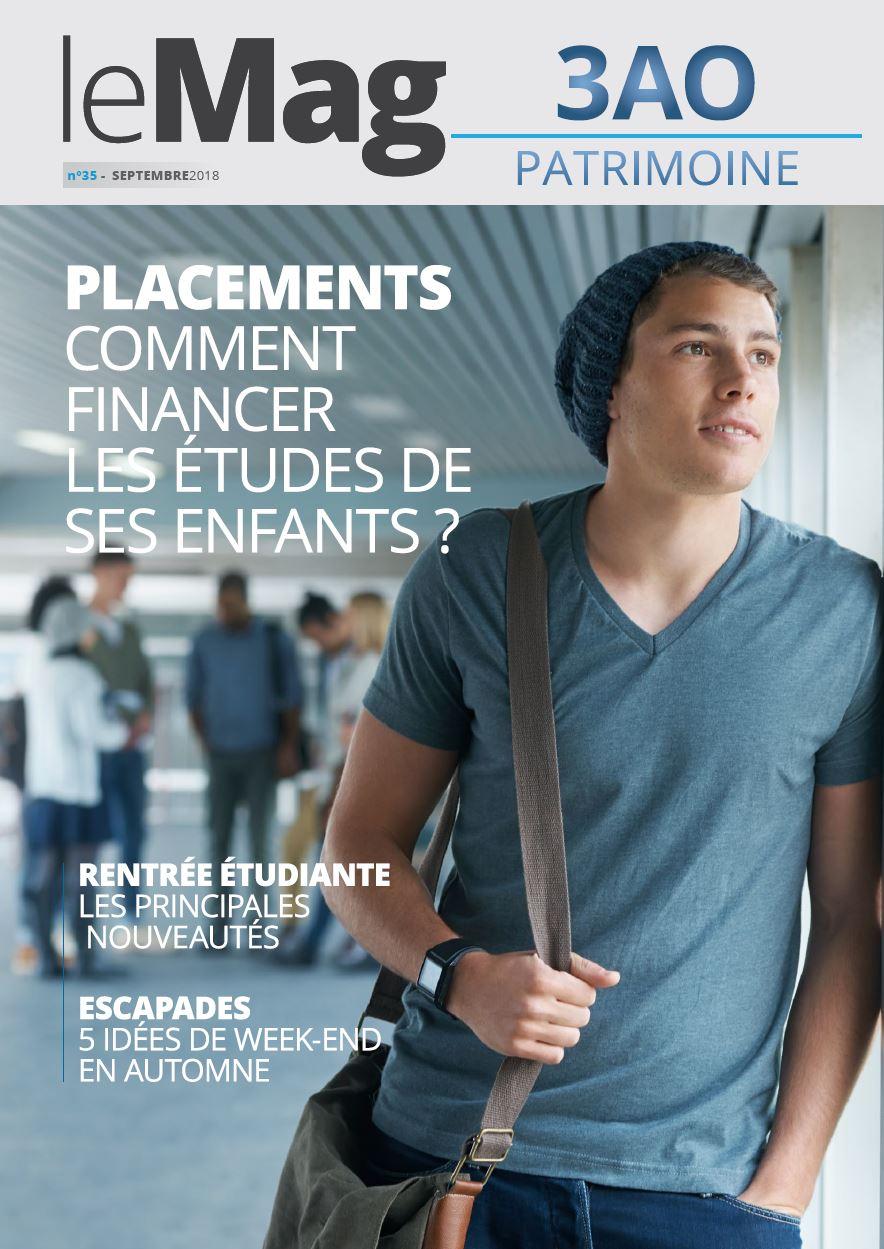 Photo Une Mag 35 3AO Patrimoine Comment financer les études de ses enfants ?