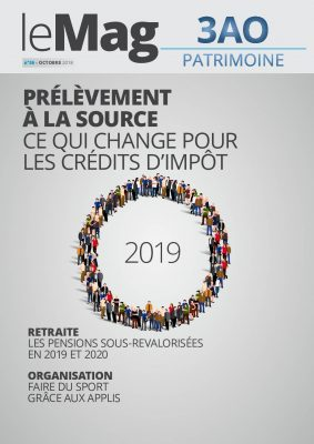 Le prélèvement à la source : ce qui change pour les crédits d'impôts, le Mag 36 – octobre 2018