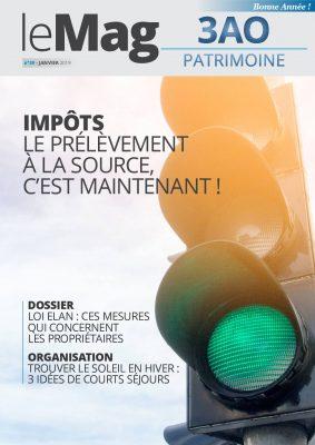 Impôts : le prélèvement à la source, c'est maintenant ! le Mag 39 – janvier 2019