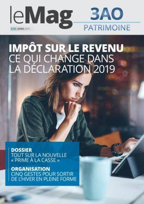 Impôt sur le revenu : ce qui change dans la déclaration 2019 – le Mag 42 – avril 2019