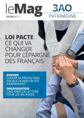 Loi Pacte : ce qui va changer pour l'épargne des français – Le Mag 44 – juin 2019