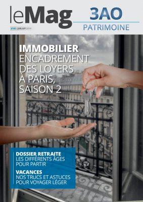 Immobilier : encadrement des loyers à Paris, saison 2 – Le Mag 45 – juillet 2019