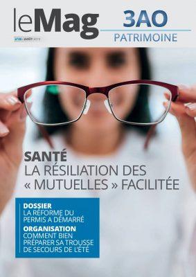 Santé : la résiliation des mutuelles facilitée – Le Mag 46 – août 2019
