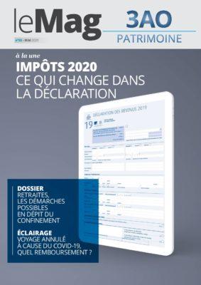 Impôts 2020   Ce qui change dans la déclaration – Le Mag 55 – Mai 2020