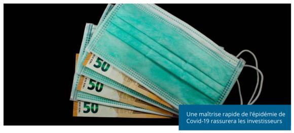Une maitrise rapide de l'épidémie de Covid-19 rassurera les investisseurs