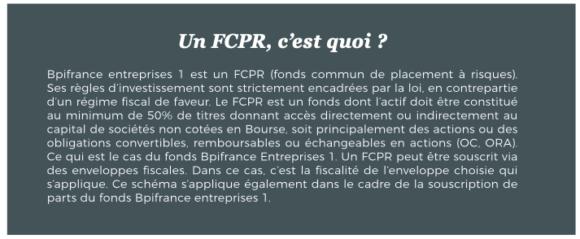 Un FCPR, c'est quoi ?